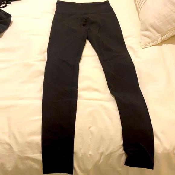 Lulu Lemon Classic Black Leggings Size 2